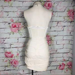 Alice + Olivia Dresses - Alice & Olivia silk bustier mini party dress